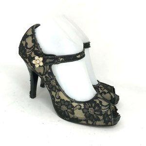 Beverly Feldman Womens Pump Heels Shoes Size 8 M